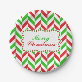 Navidad rojo y verde del modelo de la raspa de