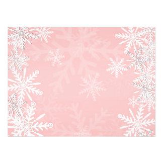 Navidad rosado anuncios personalizados
