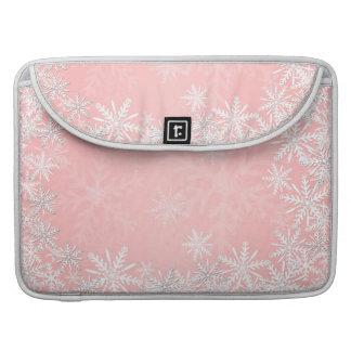 Navidad rosado funda macbook pro