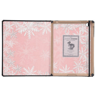 Navidad rosado iPad cárcasas