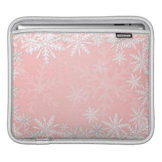 Navidad rosado mangas de iPad
