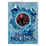 Navidad - Rottweiler - Nalani Tarjeta De Felicitación
