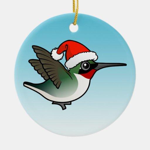 navidad Rubí-throated del colibrí Ornamentos De Reyes