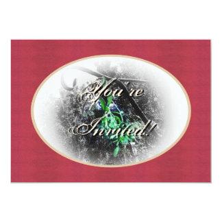 Navidad rústico del solsticio de invierno de Yule Comunicado