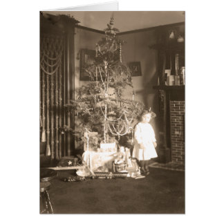 Navidad, Sacramento, CA, c.1911 Tarjeta De Felicitación