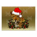 Navidad salvaje tarjeta