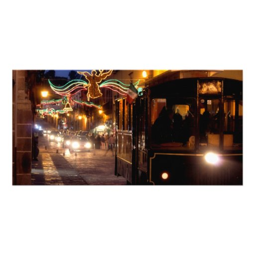 Navidad San Miguel, México, tarjeta de la foto Tarjeta Fotografica Personalizada