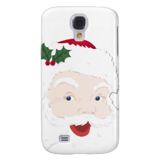 Navidad Santa del vintage Funda Para Galaxy S4