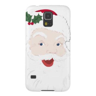 Navidad Santa del vintage Fundas Para Galaxy S5