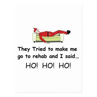 Navidad Santa divertido Postales