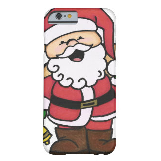 Navidad Santa Funda De iPhone 6 Barely There