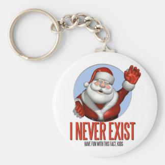 Navidad: Santa nunca existe Llaveros