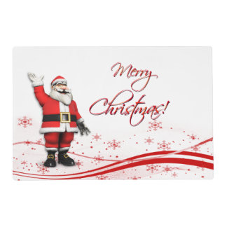 Navidad Santa Salvamanteles