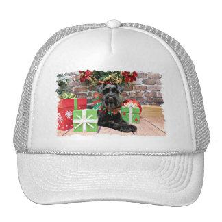 Navidad - Schnauzer - Fergie Gorras