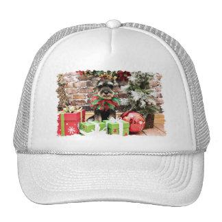 Navidad - Schnauzer - Tom Dooley #2 Gorra