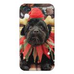 Navidad - Schnoodle - Otto iPhone 4 Fundas