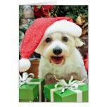 Navidad - Schnoodle - Zoey Felicitaciones