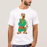 Navidad Scooby Playera