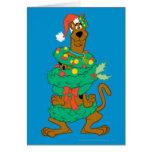 Navidad Scooby Tarjeta De Felicitación