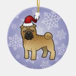 Navidad Shar Pei Ornamento Para Reyes Magos