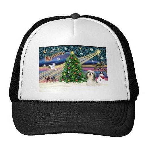 Navidad Shih mágico Tzu 4 Gorras De Camionero