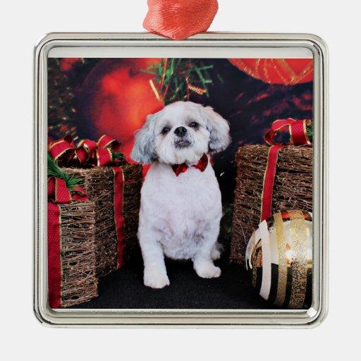 Navidad - Shih Tzu - peluche Ornamento De Navidad