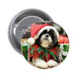 Navidad - Shih Tzu - Riley Pin