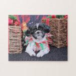 Navidad - Shih Tzu - Sadie Puzzles Con Fotos