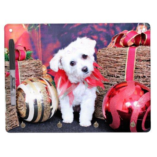 Navidad - ShihPoo - Trixie Pizarra Blanca