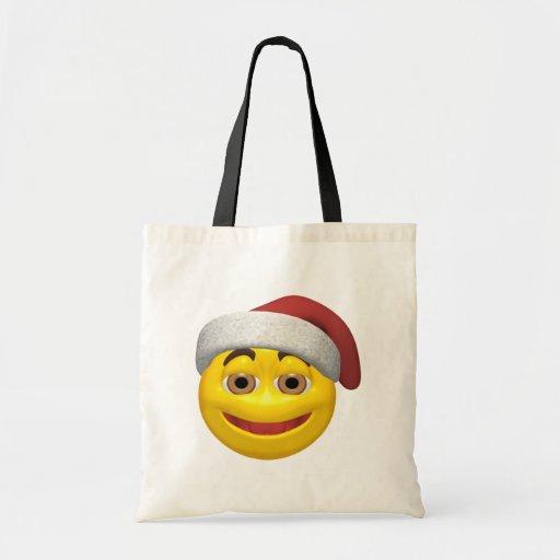 Navidad sonriente bolsa