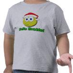 Navidad sonriente camiseta