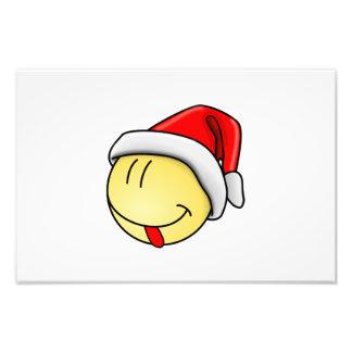Navidad sonriente impresion fotografica