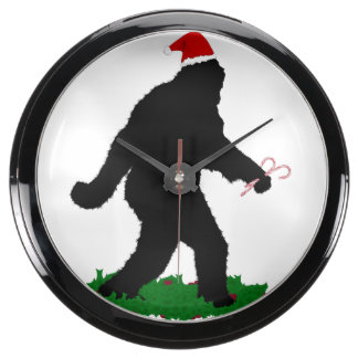 Navidad Squatch - Squatchin con los bastones de Relojes Acuario