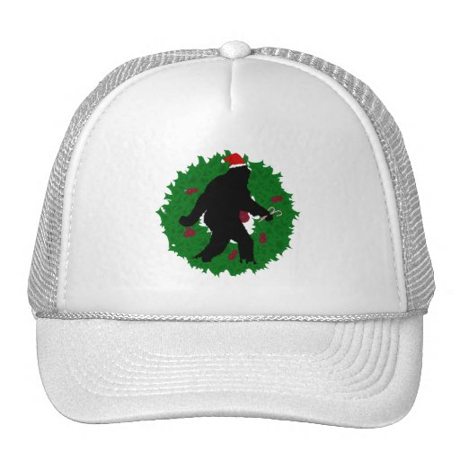 Navidad Squatchin Gorros