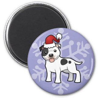 Navidad Staffordshire bull terrier