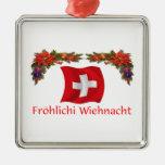 Navidad suizo adorno para reyes