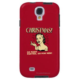 Navidad: Tan muchos fiestas, tan pocos hombres Funda Galaxy S4