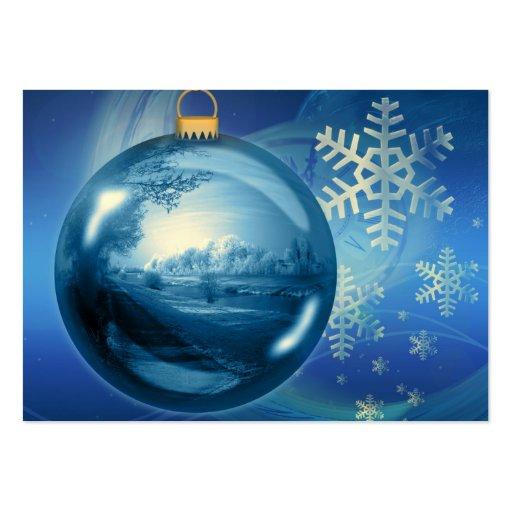 Navidad Plantilla De Tarjeta Personal