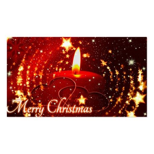 Navidad Plantilla De Tarjeta De Negocio