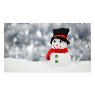 Navidad Plantillas De Tarjeta De Negocio