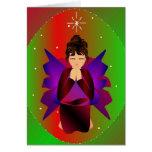 """Navidad Tarjeta-Personalizable del ángel I"""