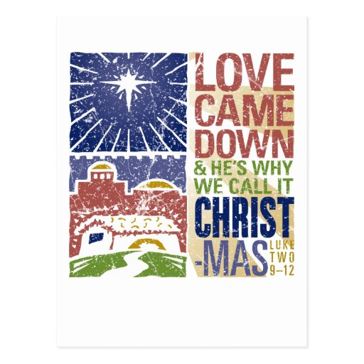 ¡Navidad! Tarjeta Postal
