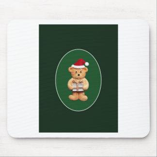 Navidad Ted con el presente Tapetes De Raton