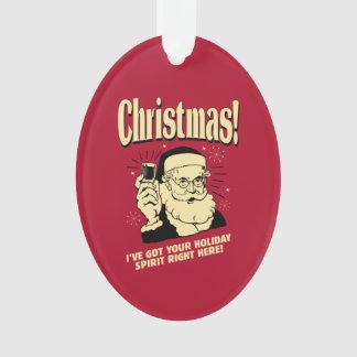 Navidad: Tengo su alcohol del día de fiesta a la
