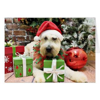 Navidad - Terrier de trigo - Bailey Tarjetas