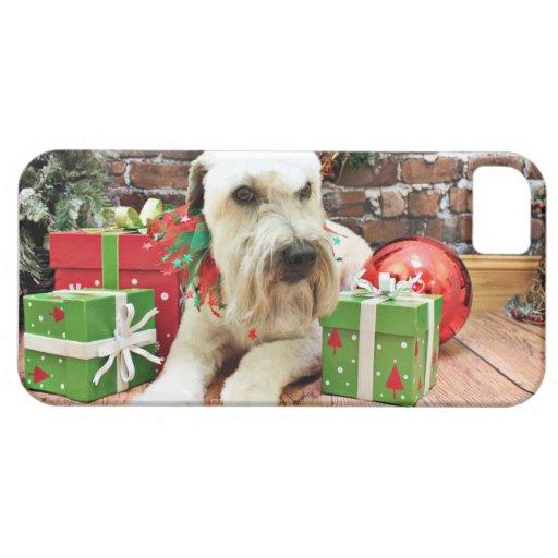 Navidad - Terrier de trigo - irlandés iPhone 5 Cobertura
