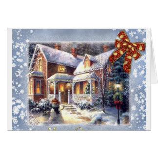 Navidad-Time Tarjeton