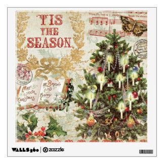 Navidad Tis del vintage la estación