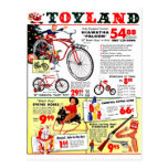 Navidad Toyland Postal