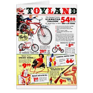 Navidad Toyland Felicitacion